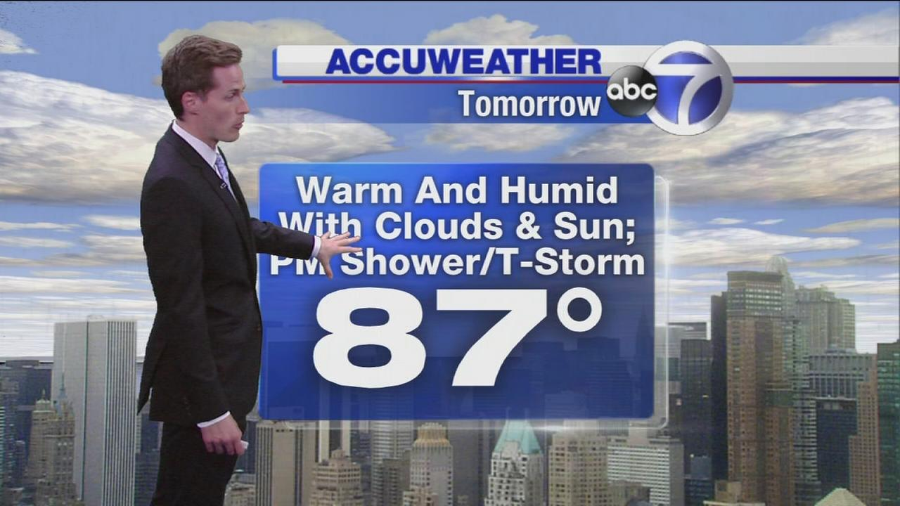 Wake Up Weather: What to Expect Sunday