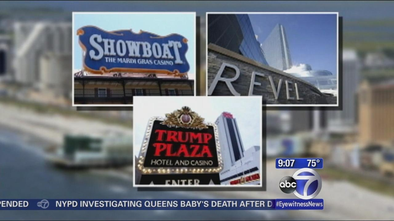 3 Atlantic City casinos to shut down