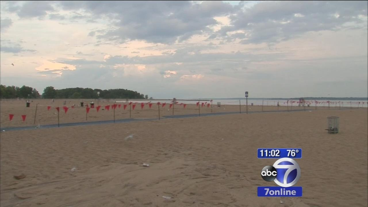 3 struck by lightning at Orchard Beach