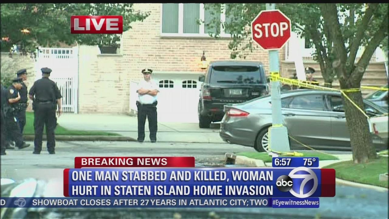 Couple attacked, man killed in Staten Island home invasion