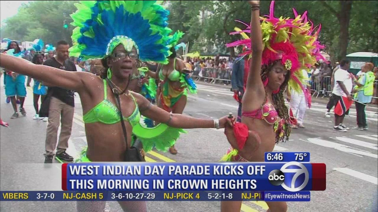 West Indian Day Parade in Crown Heights