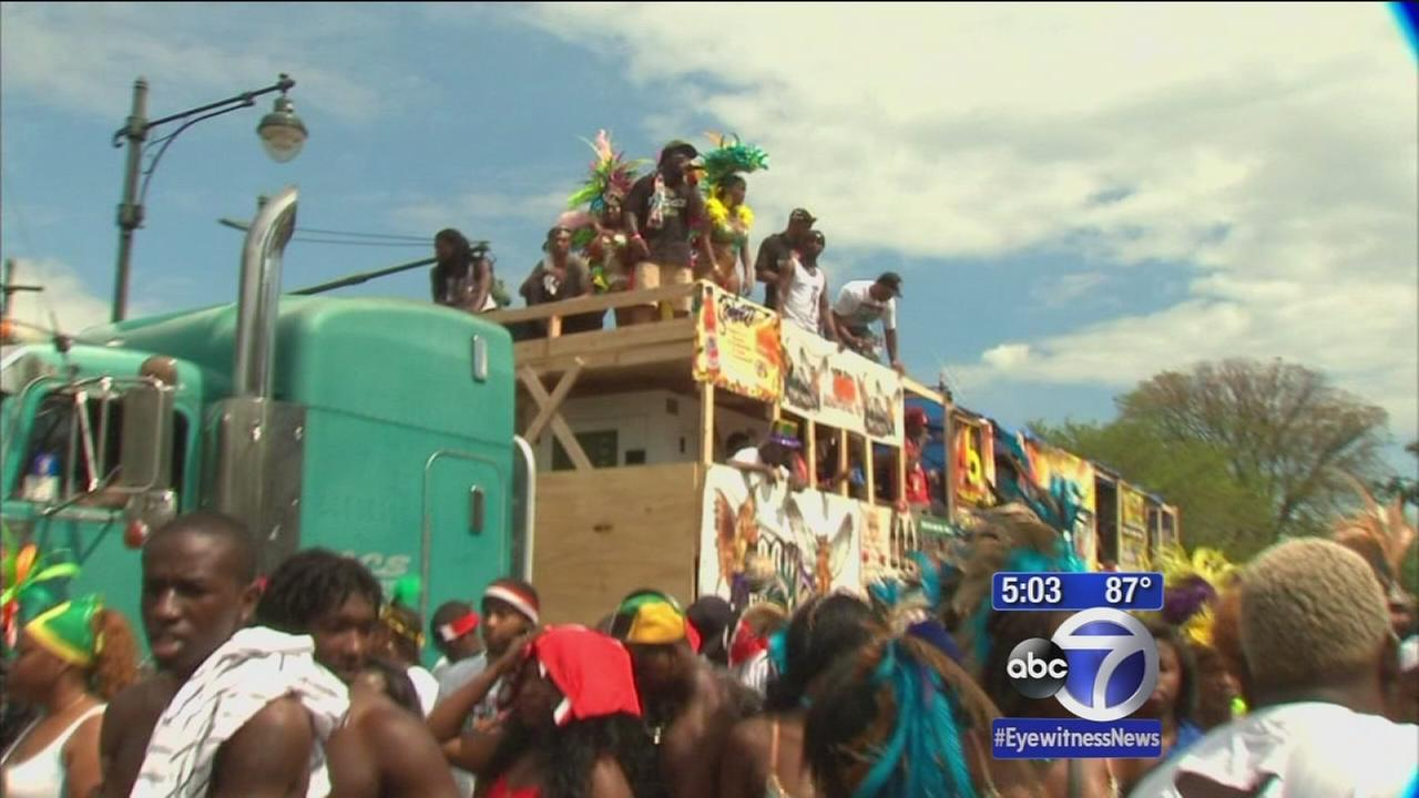 The sights and sounds of the West Indian Day Parade