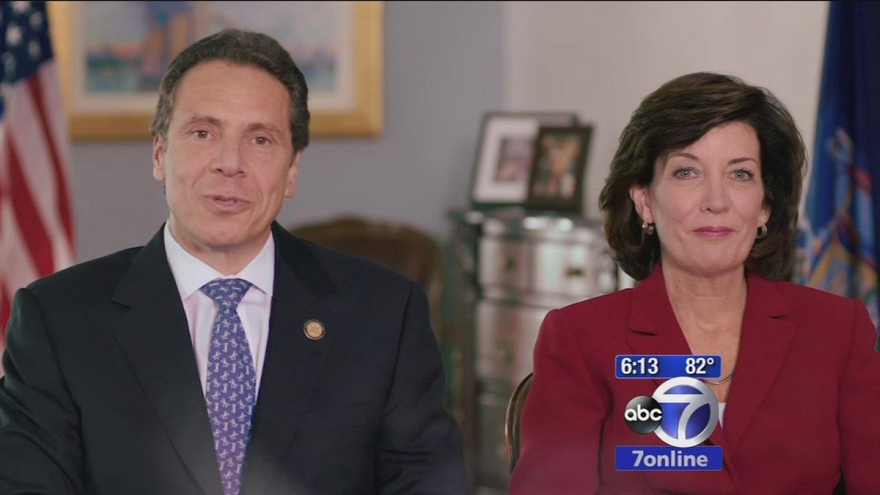 Gov. Cuomo insists hes standing by running mate