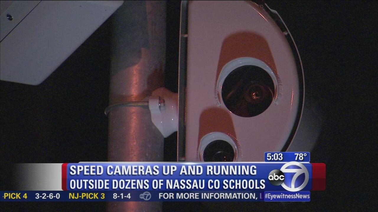 Nassau County speed cameras up and running in school zones