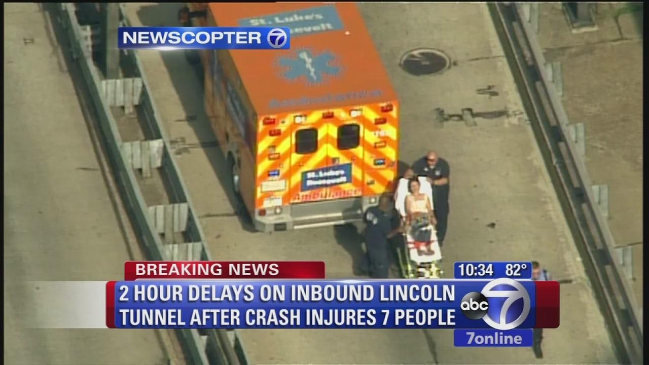 Lincoln Tunnel accident causes massive delays
