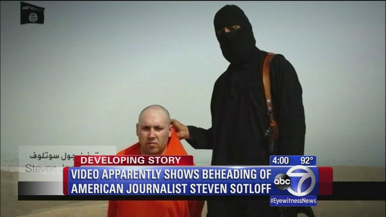 Video apparently shows beheading of Steven Sotloff