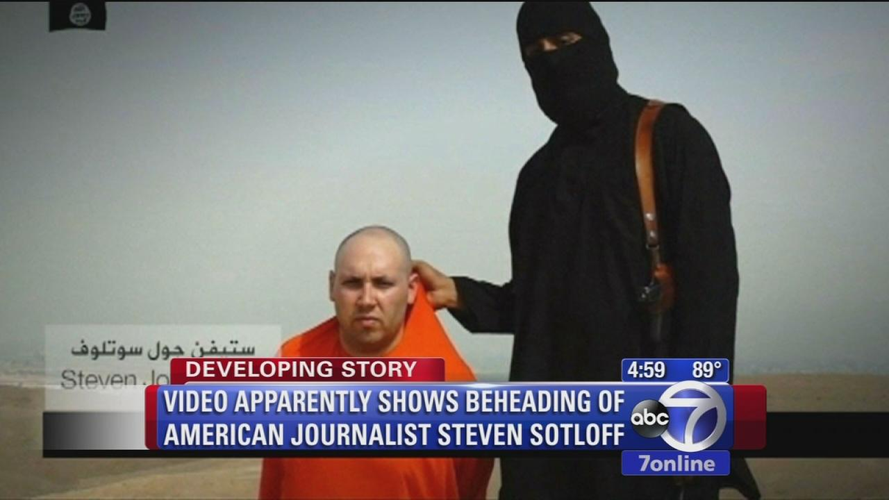 Video apparently shows beheading of journalist Steven Sotloff