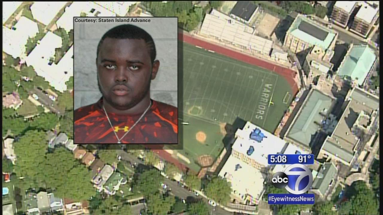 High School football player dies during practice