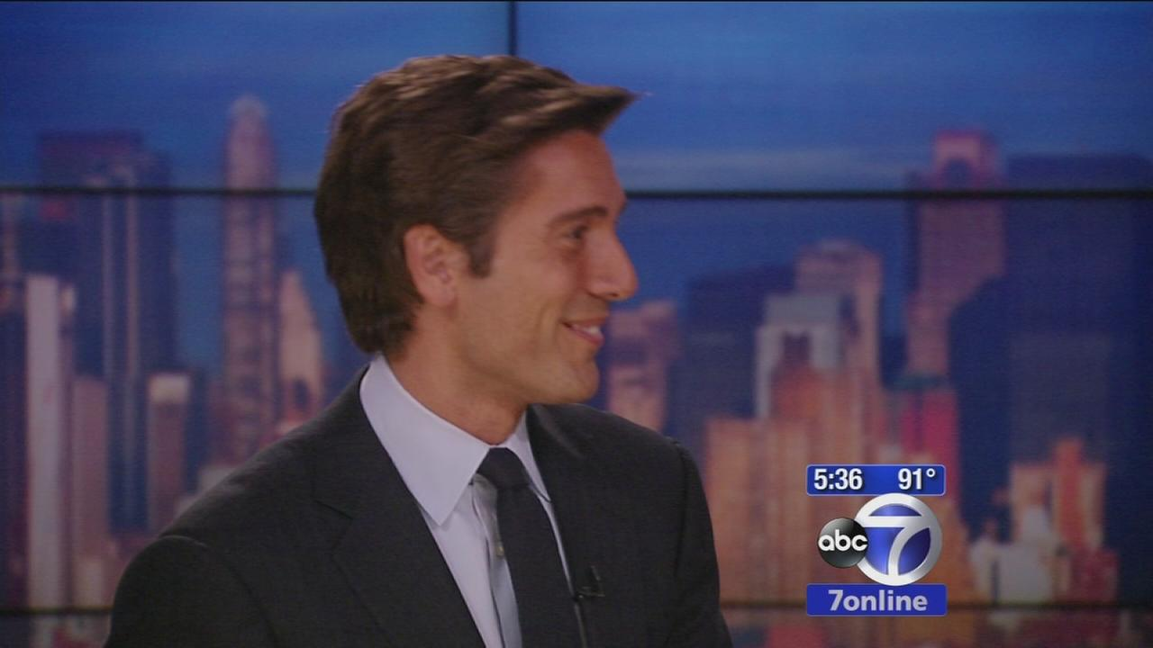 David Muir talks about taking over as anchor of World News Tonight