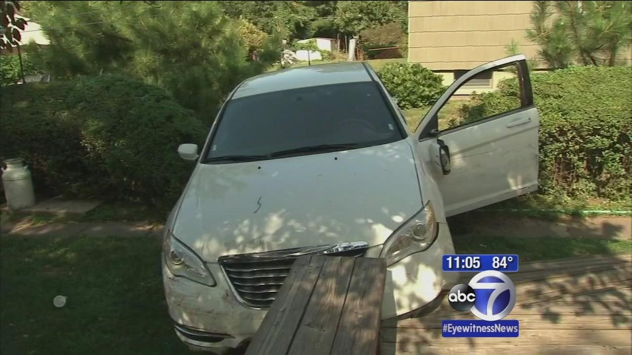 Wild police chase crashes through neighborhood in New Rochelle.