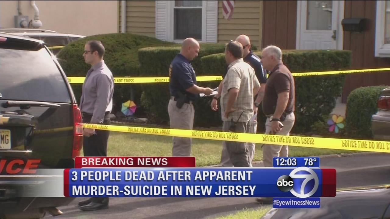 3 dead in apparent murder-suicide in Hasbrouck Heights
