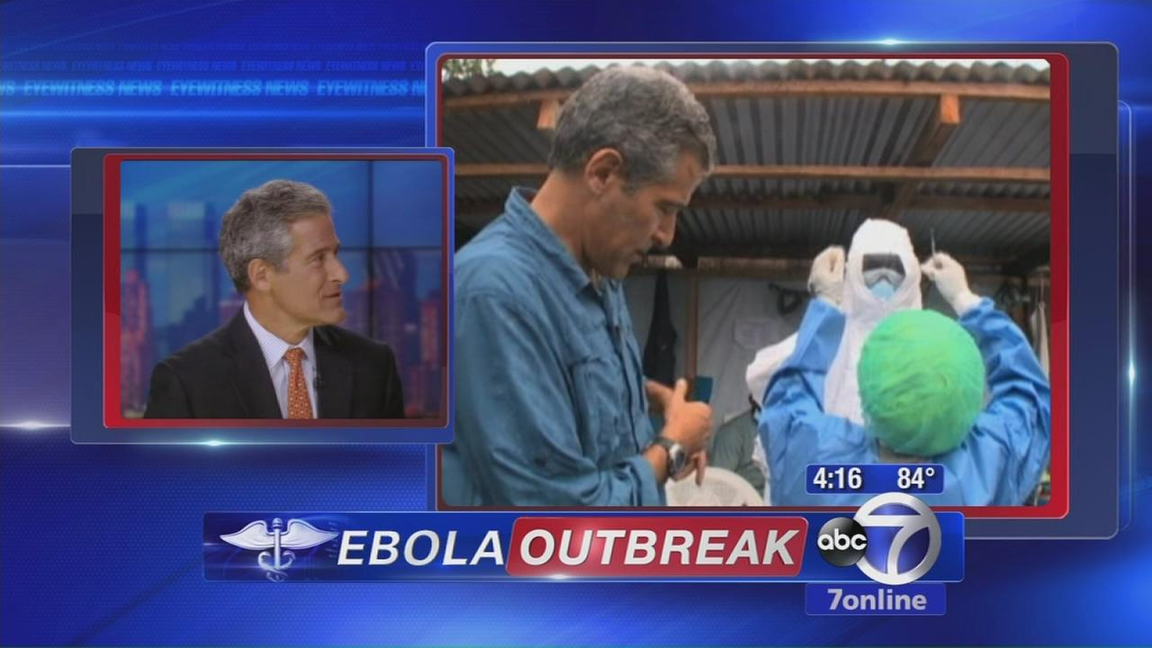 Dr. Besser reports on the ebola outbreak