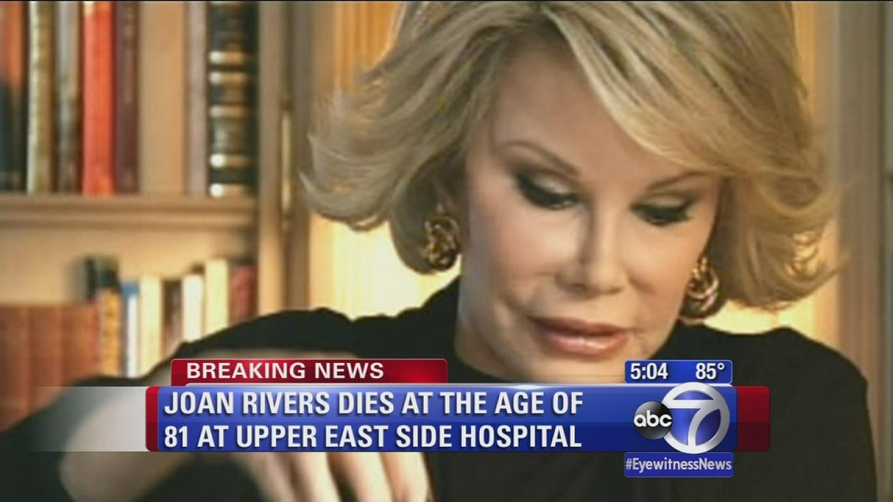 Sandy Kenyon on the life and death of Joan Rivers
