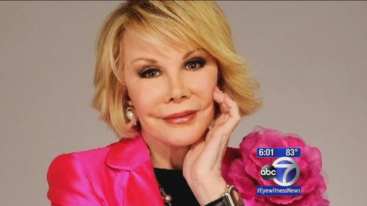 Celebrities mourn comic legend Joan Rivers