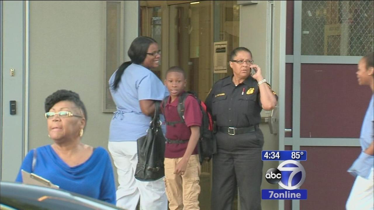 Frustrations on first day back to school in Newark