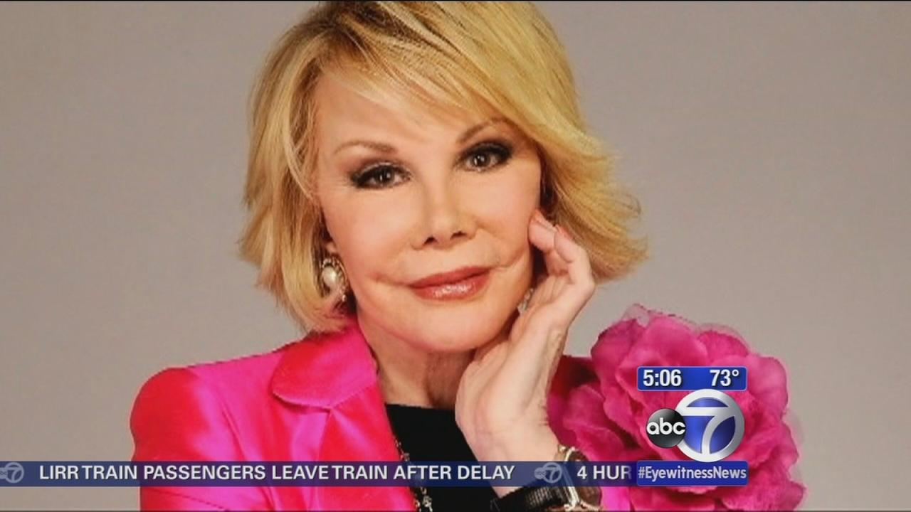 More on the life and career of Joan Rivers