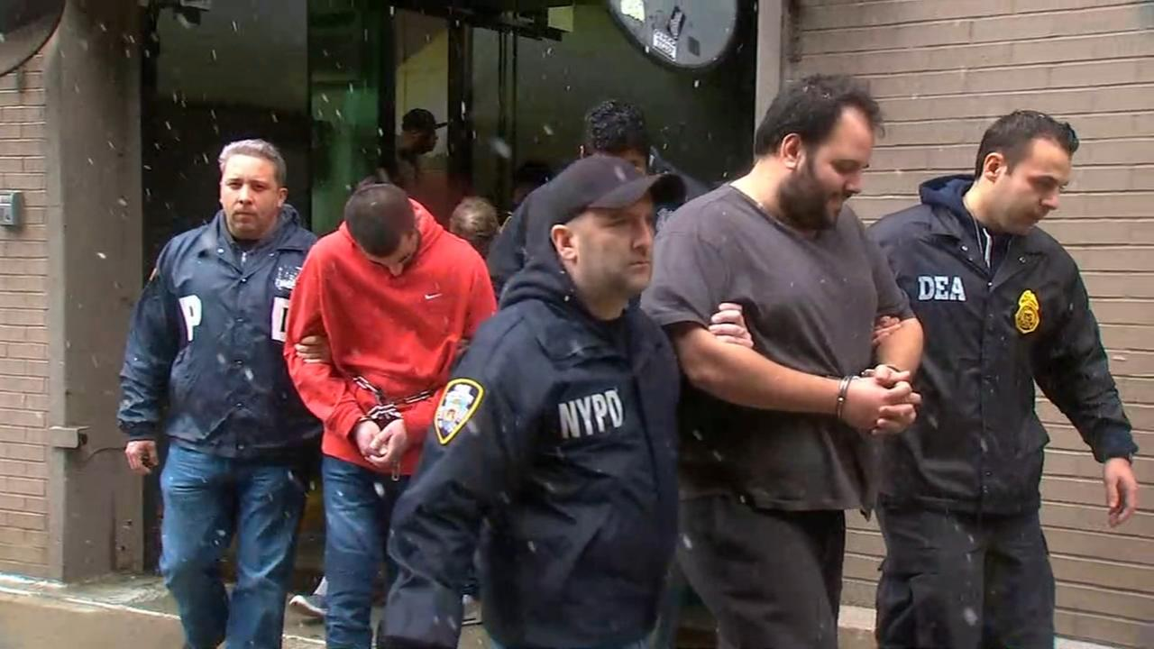 Raw video: Suspects arrested in major drug ring on Staten Island
