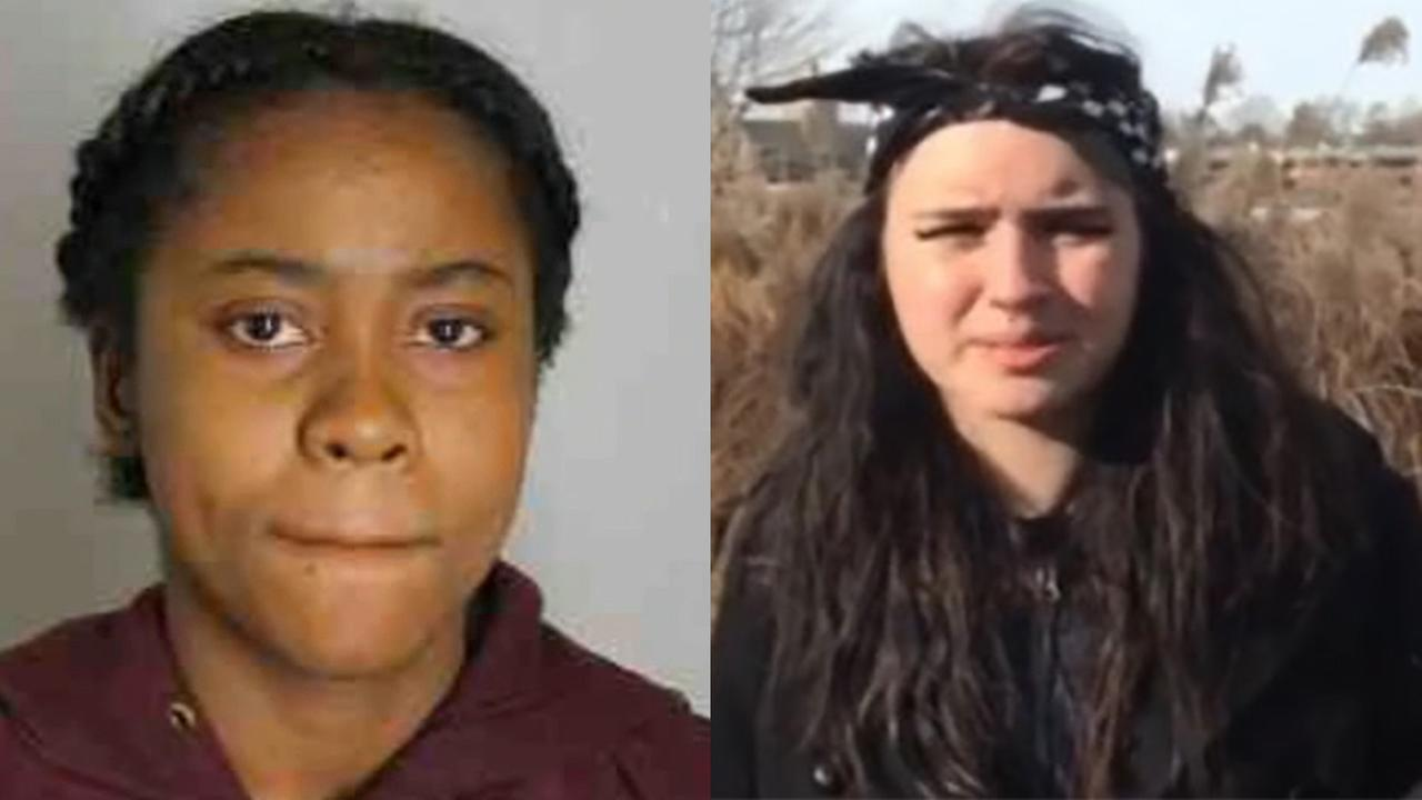 Zinah Brown (left) and Valeree Megan Schwab