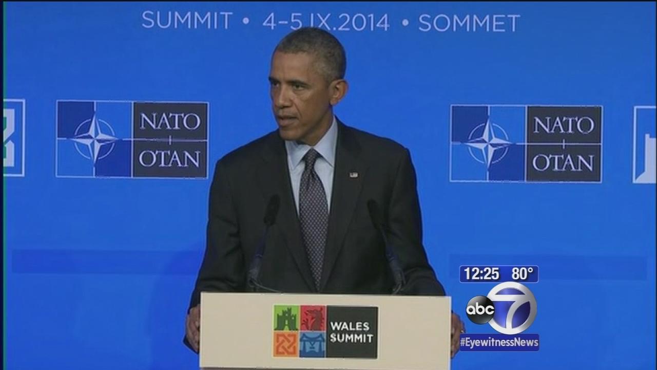 President Obama delivers remarks on ISIS, Ukraine