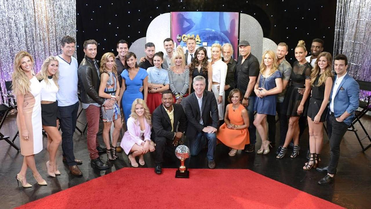 dancing with the stars full cast photo