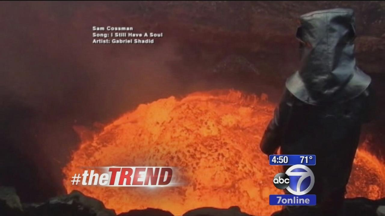 Man dives into an active volcano, records trip on GoPro