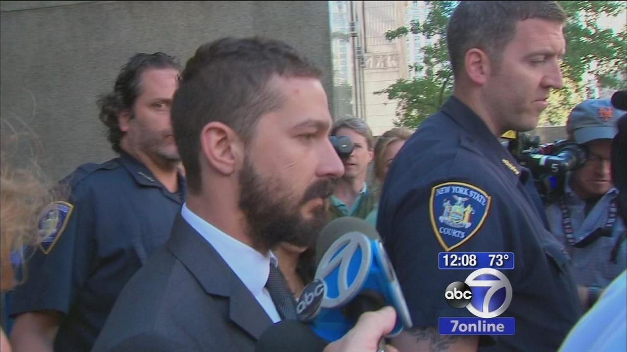 Shia LaBeouf ordered back to rehab after guilty plea