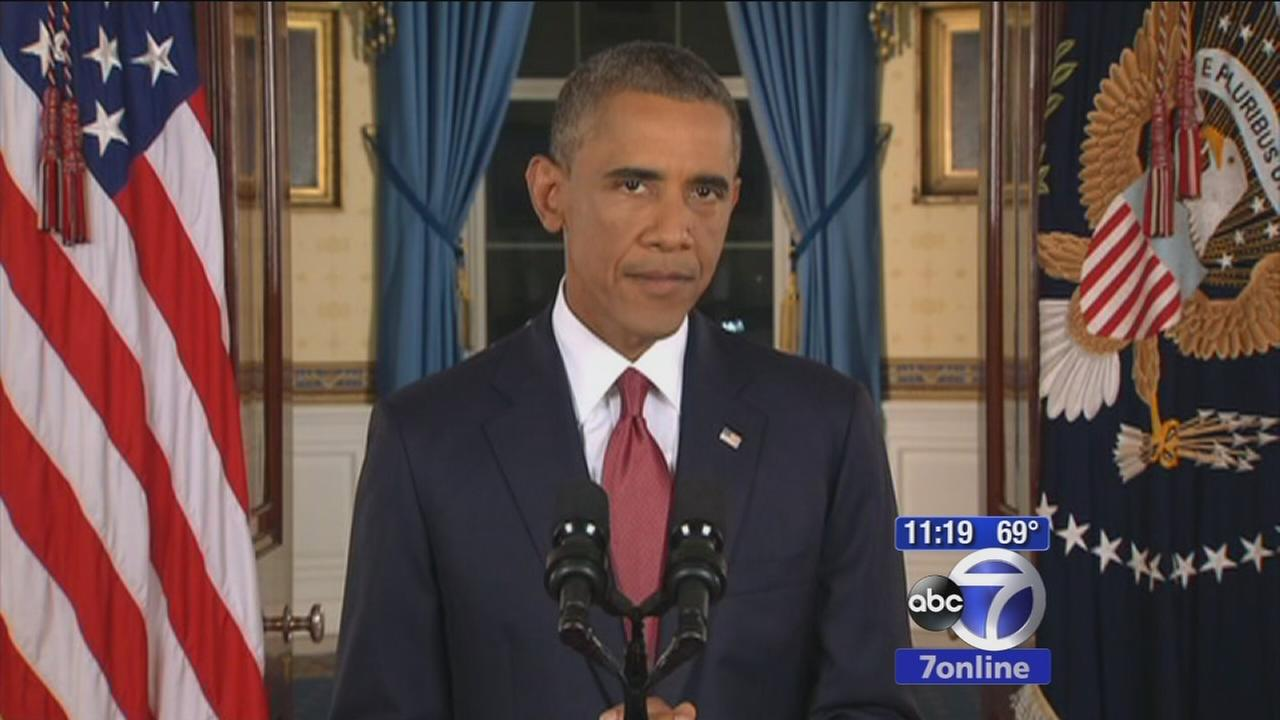 President Obama details strategy for defeating ISIS