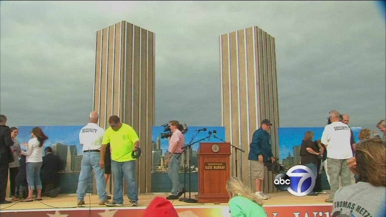 Ceremony held on Long Island to remember those killed on September 11