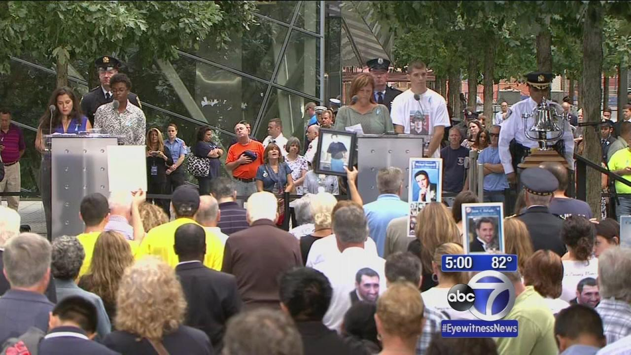 Victims remembered during September 11th Ceremony