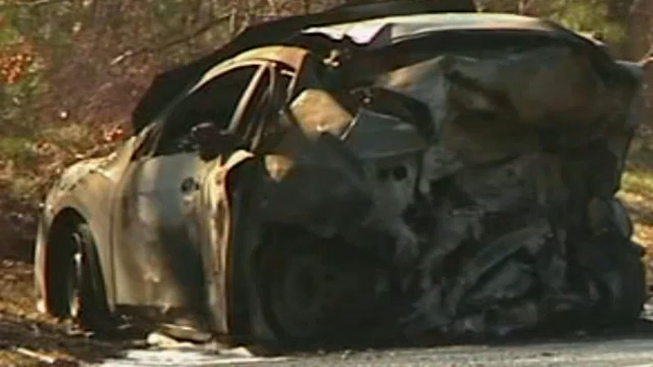 Dead In Fiery Crash Involving Oil Truck Stolen Car In Ridge In - Stolen car