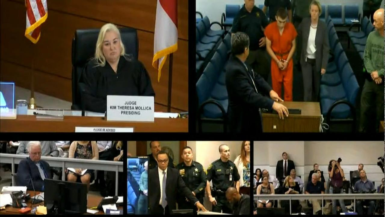 Florida school shooters first court appearance