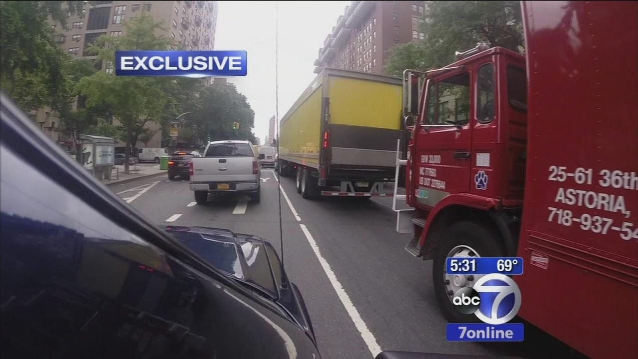 The Investigators test NYCs claims that bike lanes ease traffic delays