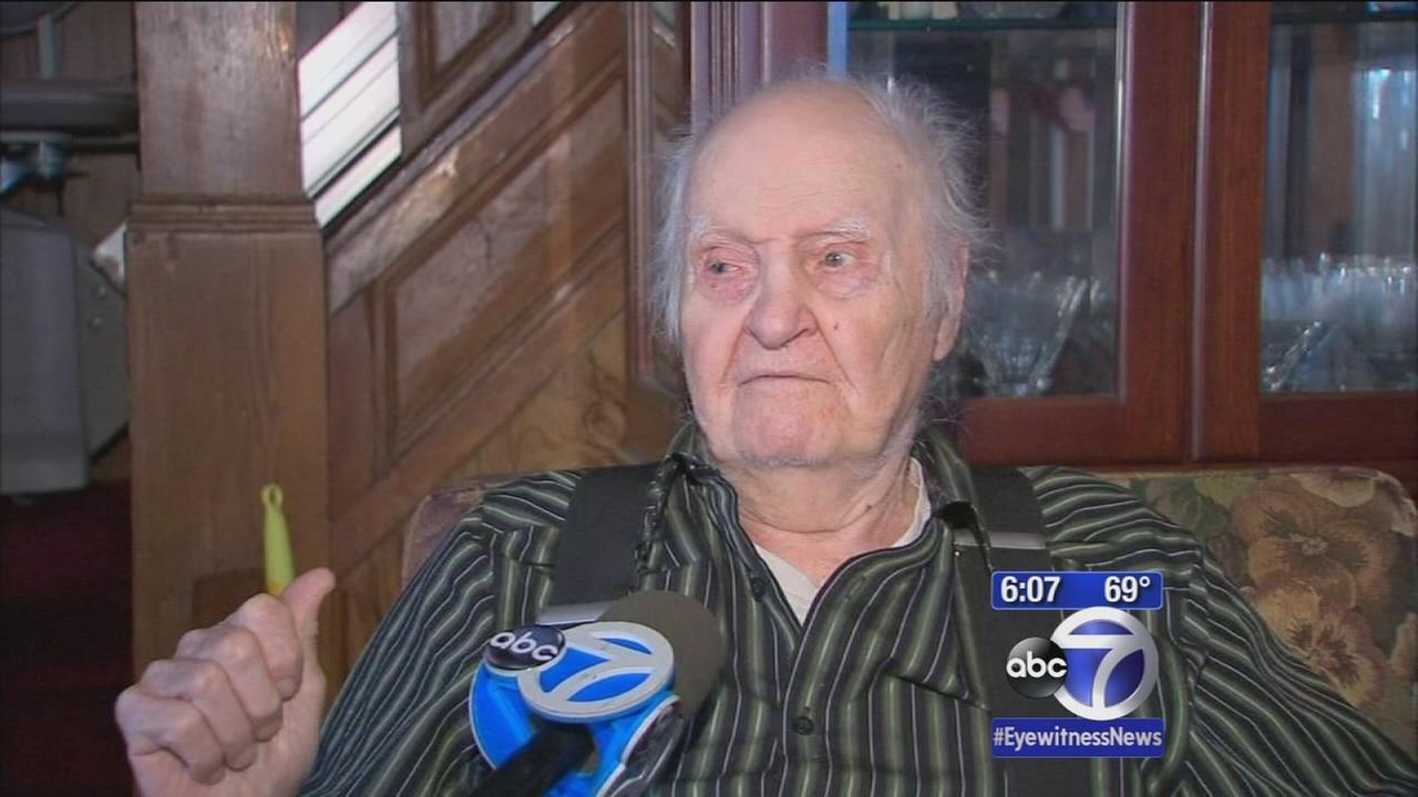 Search for burglars who victimized elderly man