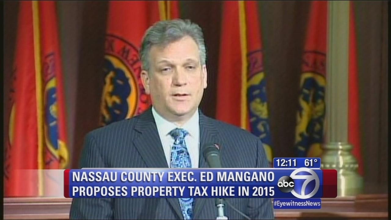 Nassau County tax hike in 2015