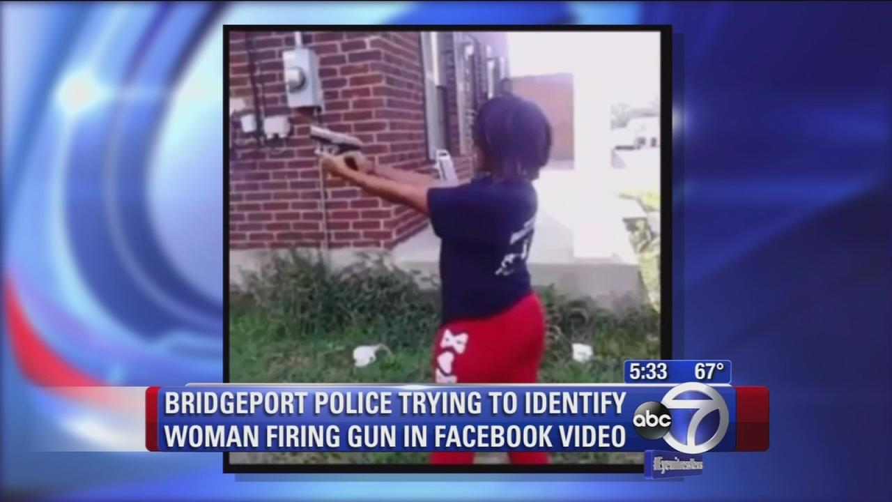 Police in CT searching for woman firing a gun on Facebook
