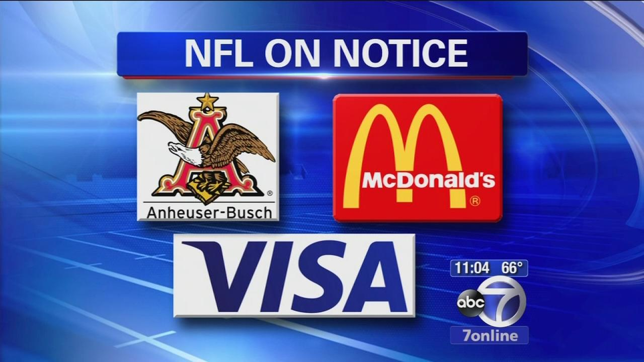 NFL on notice by big sponsors