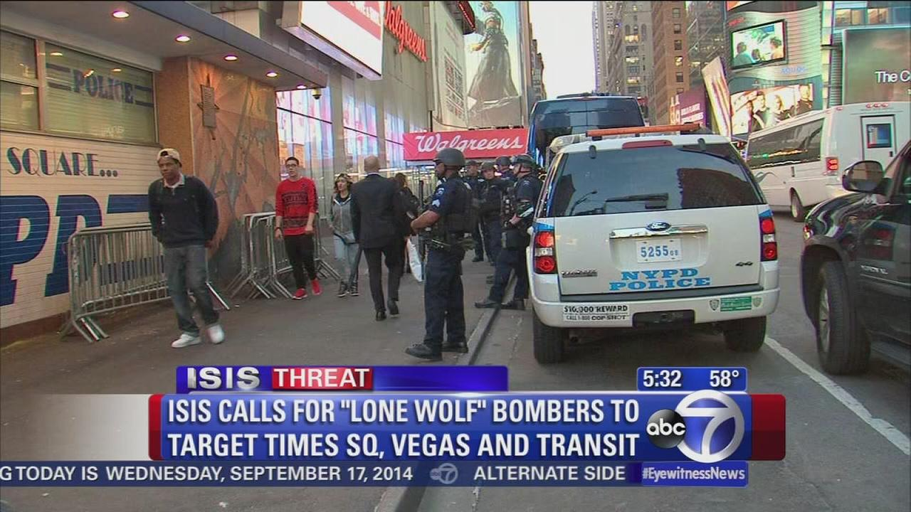 ISIS blog calls for lone wolf to target Times Square