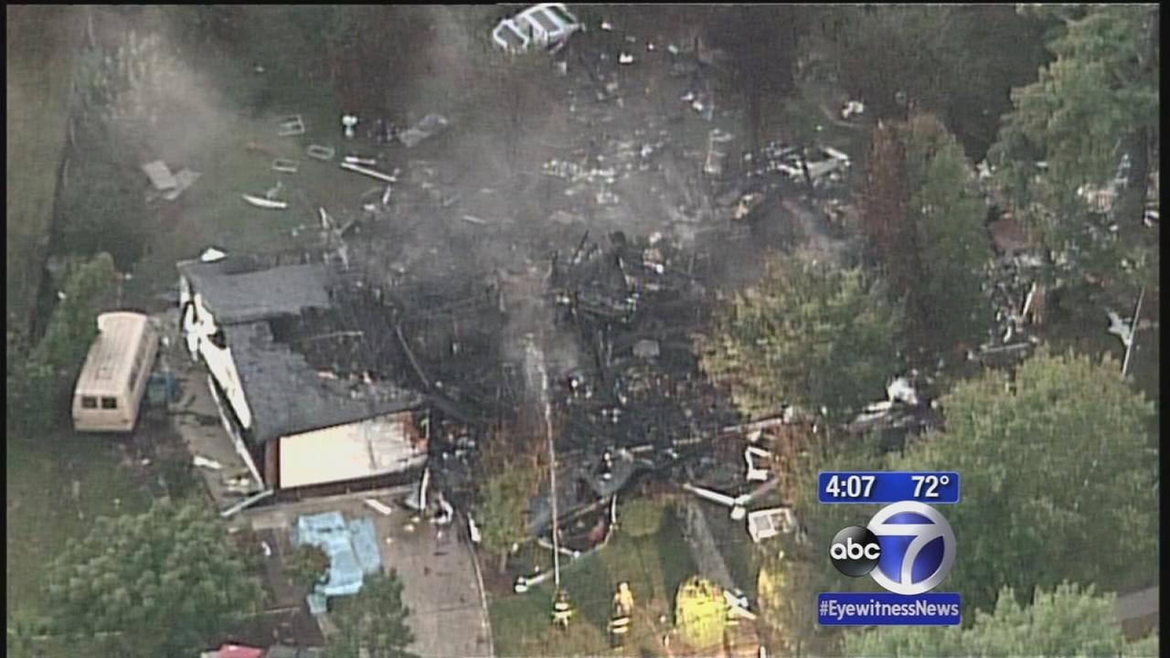1 dead in house explosion in New Jersey