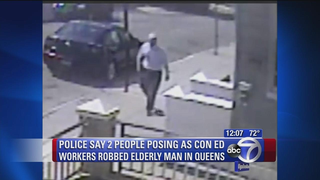 Elderly man robbed by two fake Con Ed workers