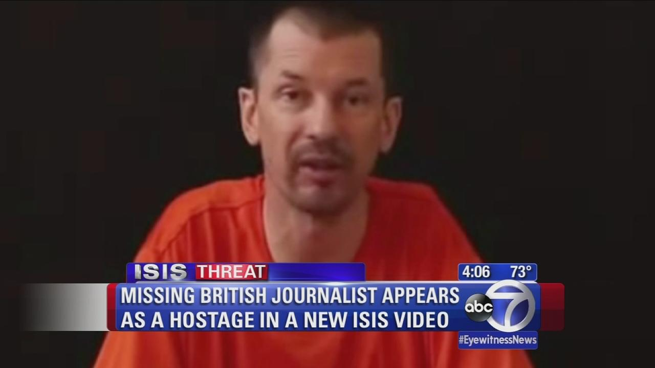 Missing British journalist appears in ISIS video