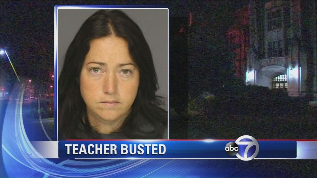 Teacher arrested for allegedly having sex with three students