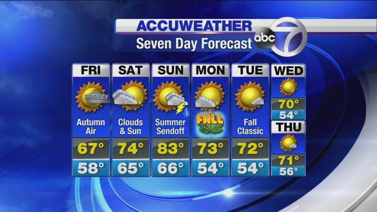 AccuWeather: Autumn air