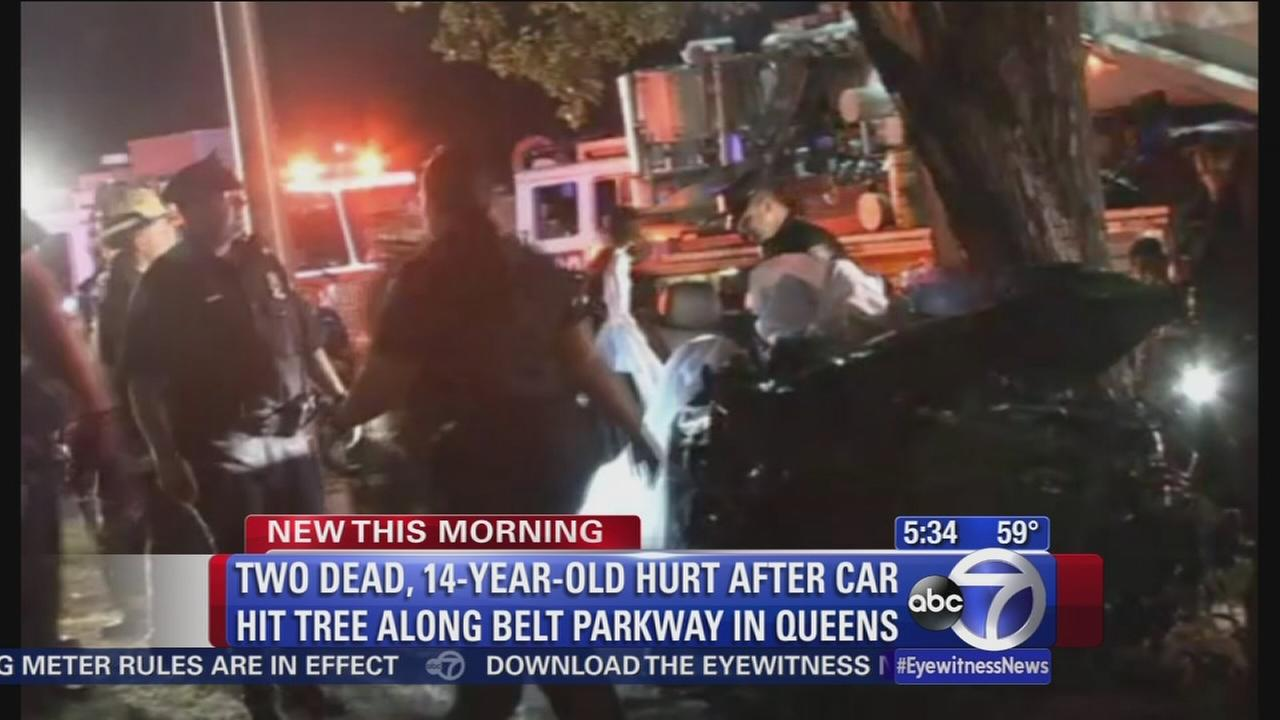Queens double fatal crash