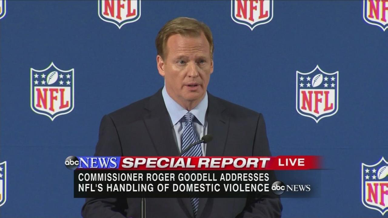 NFL Commissioner Goodell apologizes