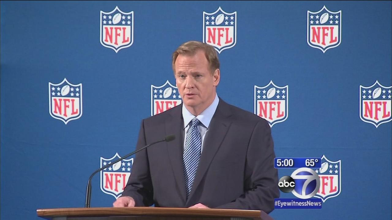 Goodell apologizes for mishandling of domestic violence in NFL