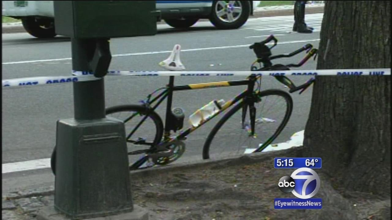 Pedestrian struck in Central Park