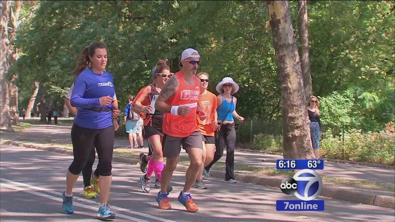 Man running for 48 hours non-stop to raise money for cancer