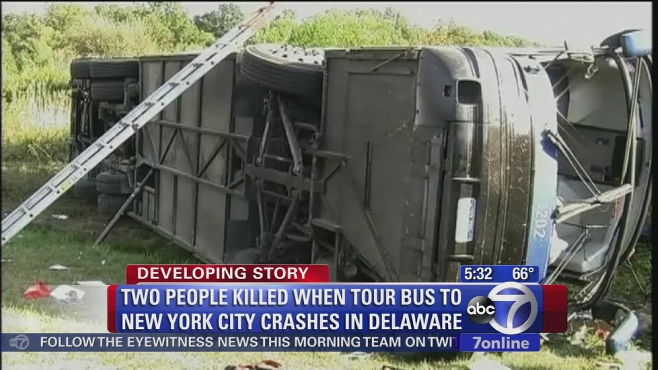 2nd person dies in Chinatown bus in Delaware