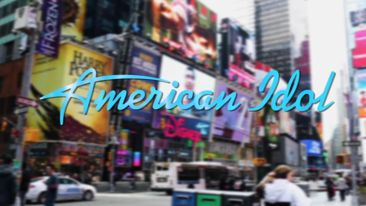 Excitement in the air in NYC ahead of American Idol premiere