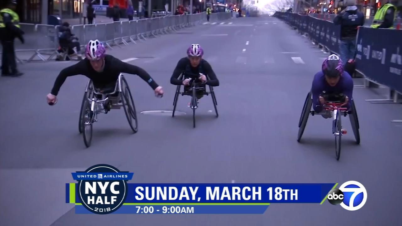 NYC Half Marathon Moments